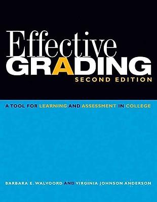 John Wiley & Sons Effective Grading Book