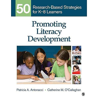 Sage Publications Promoting Literacy Development Book