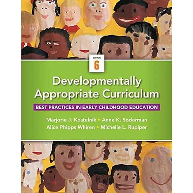 Pearson Developmentally Appropriate Curriculum Book With Enhanced Pearson eText, New Book