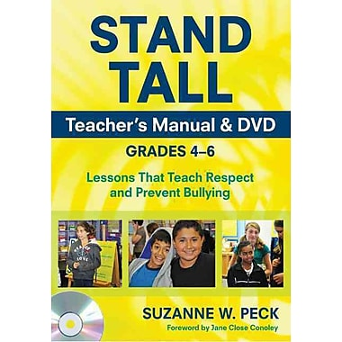 Corwin Press Teachers Guide Mixed Media Stand Tall Teacher's Manual & DVD