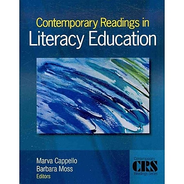 Sage Publications Contemporary Readings in Literacy Education Book