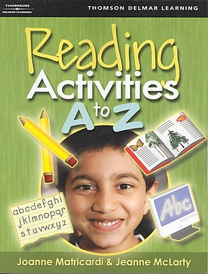 Cengage Learning® Reading Activities A to Z Book, 1st Edition