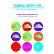 Taylor & Francis Visible Learning: A Synthesis of Over 800 Meta-Analyses Book, 1st Edition