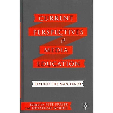 Palgrave Macmillan Current Perspectives in Media Education Book