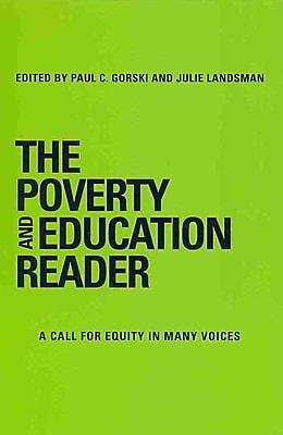Stylus Publishing The Poverty And Education Reader Hardback Book