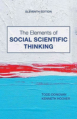 Cengage Learning® The Elements of Social Scientific Thinking Book