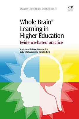 Elsevier Whole Brain Learning in Higher Education Book