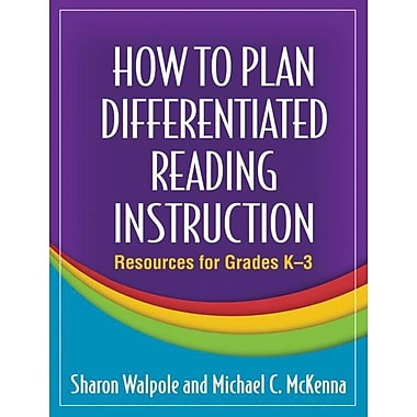 Guilford Press How to Plan Differentiated Reading Instruction Book