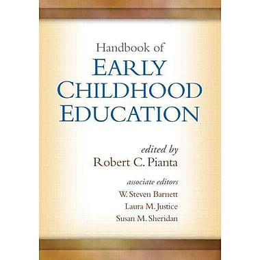 Guilford Press Handbook of Early Childhood Education Book