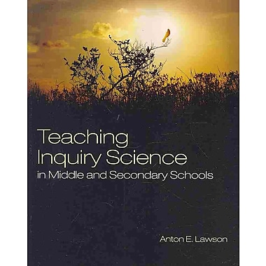 Sage Publications Teaching Inquiry Science in Middle and Secondary Schools Book