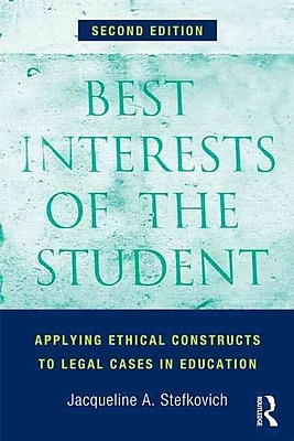 Taylor & Francis Best Interests of the Student Paperback Book