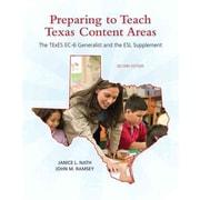 Prentice Hall Preparing to Teach Texas Content Areas Book