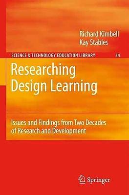 Springer Researching Design Learning, Volume 34 Book