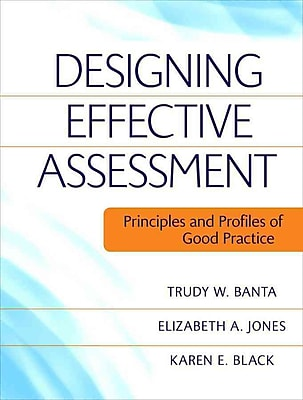 John Wiley & Sons Designing Effective Assessment Book