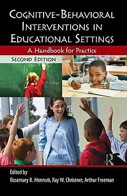 Taylor & Francis Cognitive-Behavioral Interventions in Educational Book, 2nd Edition