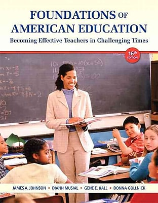 Pearson Foundations of American Education Access Card