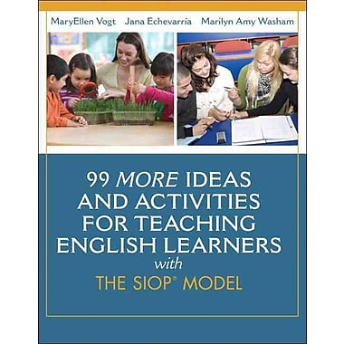 Pearson 99 More Ideas and Activities for Teaching English Learners with the SIOP.. Paperback Book