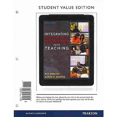 Pearson Integrating Educational Technology Into Teaching Book
