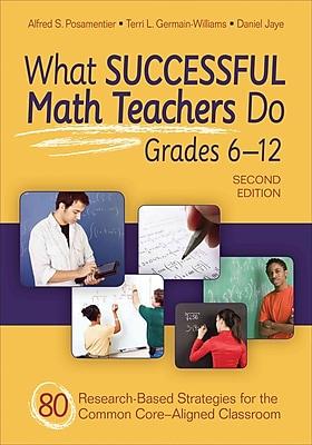 Corwin 2nd Edition What Successful Math Teachers Do Book, Grades 7