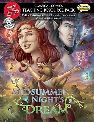 PGW® A Classical Comics Teaching Resource Book Pack: Midsummer Night's Dream