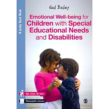 Sage Publications Emotional Well-being for Children with Special Educational Needs... Paperback Book