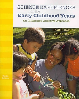 Pearson Science Experiences for the Early Childhood Years Book, 10th Edition