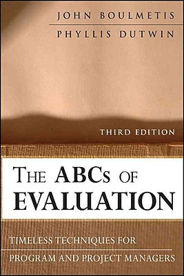 John Wiley & Sons The ABCs of Evaluation Book