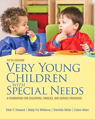 Pearson Very Young Children With Special Needs Loose-Leaf Version Book