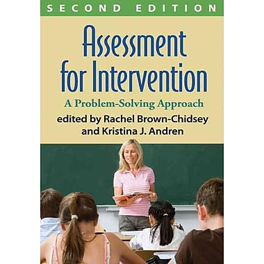 Guilford Press Assessment for Intervention: A Problem-Solving Approach Book