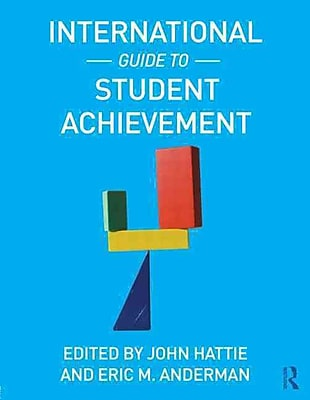 Taylor & Francis International Guide to Student Achievement Paperback Book