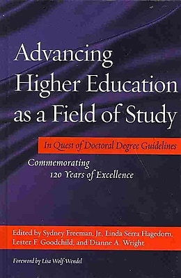 Stylus Publishing Advancing Higher Education As A Field Of Study Book