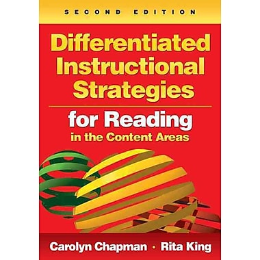 Corwin Differentiated Instructional Strategies for Reading in the Content Areas Book