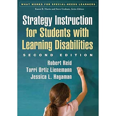 Guilford Press Strategy Instruction for Students With Learning Disabilities Paperback Book