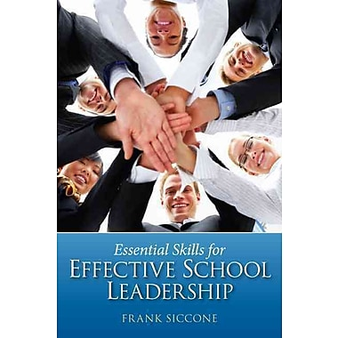 Pearson Essential Skills for Effective School Leadership Book