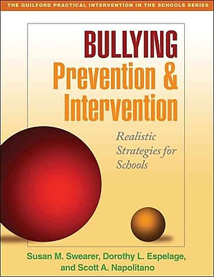 Guilford Press Bullying Prevention and Intervention: Realistic Strategies for Schools Book