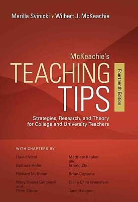 Cengage Learning® McKeachie's Teaching Tips Book