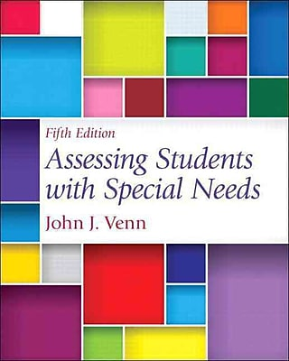 Pearson Assessing Students With Special Needs Loose-Leaf Version Book