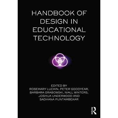 Taylor & Francis Handbook of Design in Educational Technology Book