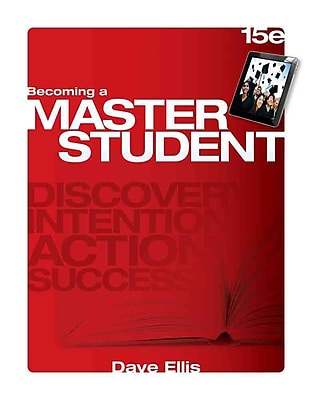Cengage Learning® Becoming a Master Student Book