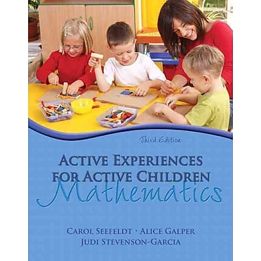 Pearson Active Experiences for Active Children Mathematics Book, 3rd Edition