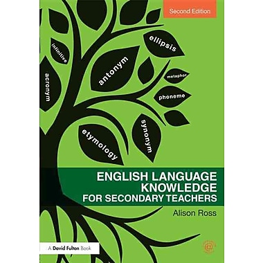 Taylor & Francis English Language Knowledge for Secondary Teachers Paperback Book