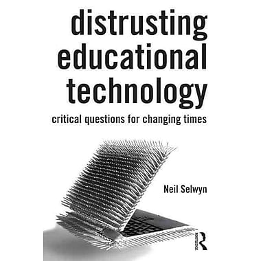 Taylor & Francis Distrusting Educational Technology Paperback Book
