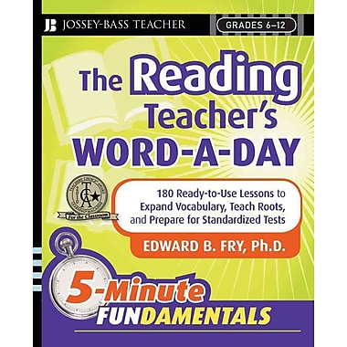 John Wiley & Sons The Reading Teacher's Word-A-Day Book