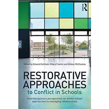 Taylor & Francis Restorative Approaches to Conflict in Schools Paperback Book