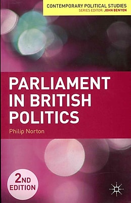 MacMillan Parliament in British Politics Paperback Book