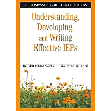 Corwin Understanding, Developing, and Writing Effective IEPs Book