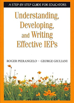 Corwin Understanding, Developing, and Writing Effective IEPs Book