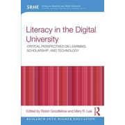 Taylor & Francis Literacy in the Digital University Paperback Book