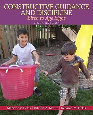 Pearson Constructive Guidance and Discipline: Birth to Age Eight Book