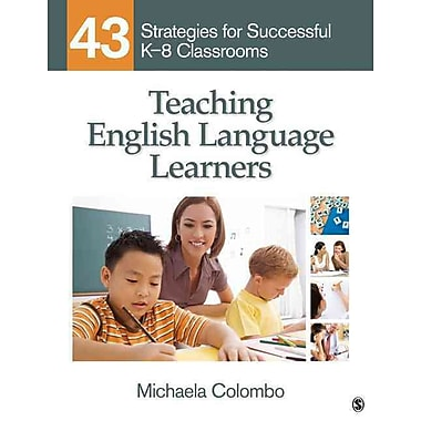 Sage Publications Teaching English Language Learners Paperback Book